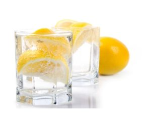 how to use lemon and water in kitchen